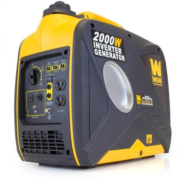 Wen 1600W 4-Stroke Gas Powered Portable Inverter Generator for $379.99
