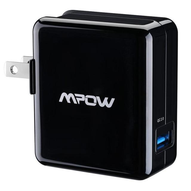 Mpow 18W USB AC Wall Charger for $4.99