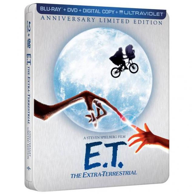 ET The Extra-Terrestrial LE Steelbook Blu-ray for $12.99