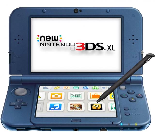 New Nintendo 3DS XL Portable Gaming Console for $159.96
