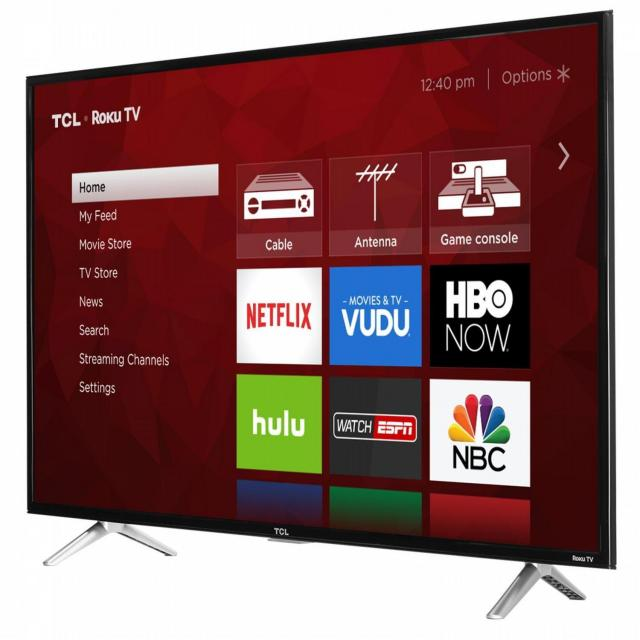 TCL 43in 4K UHD Smart TV with $100 Gift Card for $339.99