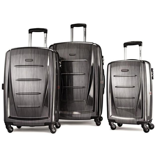 Samsonite Winfield 2 Fashion HS 3-Piece Spinner Set for $209