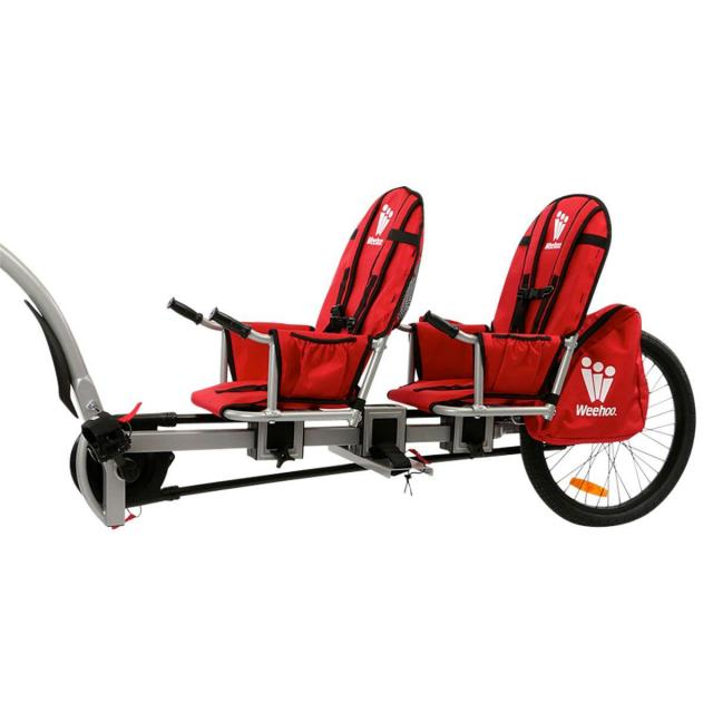 Weehoo iGo Two Tag Along Bicycle Trailer for $364.99
