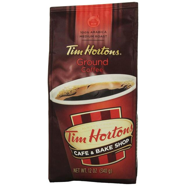 12oz Tim Hortons Ground Coffee for $3.89