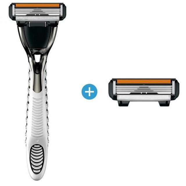 Dorco Pace 4 Razor with 2 Cartridges Set for $1.99