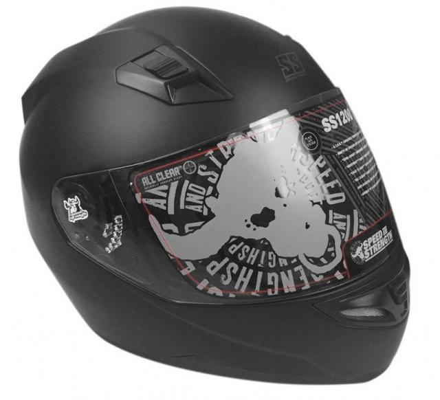 Speed and Strength SS1200 Motorcycle Helmet for $39.49