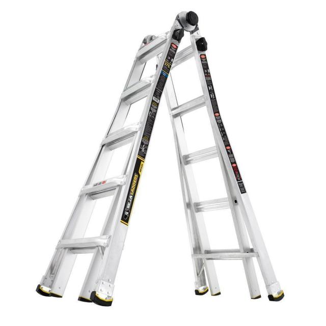 Gorilla Ladders 22ft Telescoping Multi-Position Ladder for $99
