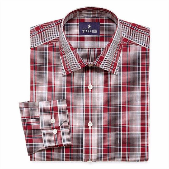 Stafford Travel Easy Care Dress Shirt for $6.74