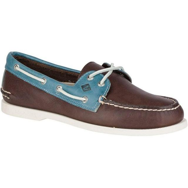 Sperry Mens Authentic Original 2-Eye Cross Lace Boat Shoe for $39.97