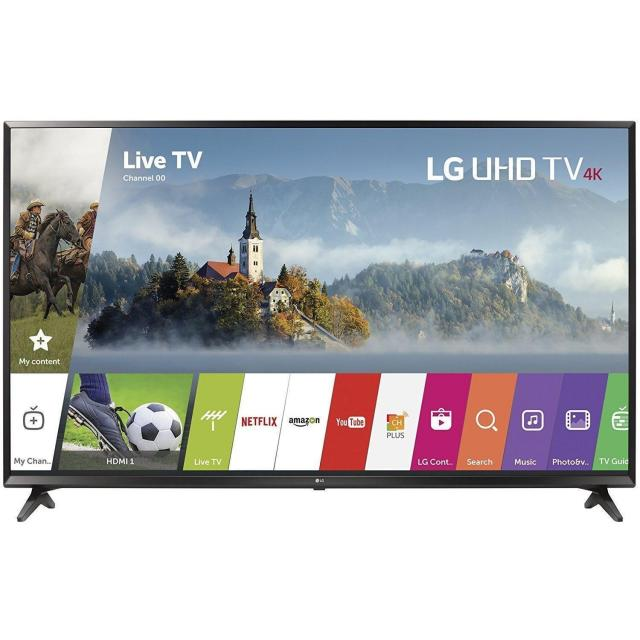 LG 43in 4K Ultra HD Smart LED HDTV with $100 Gift Card for $329.99