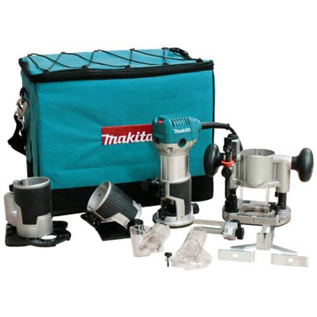 Makita Compact Router Kit with 3 Bases for $189.13