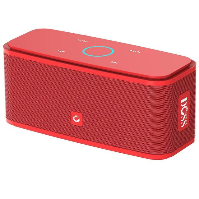 DOSS Touch Portable Bluetooth Speaker for $23.79
