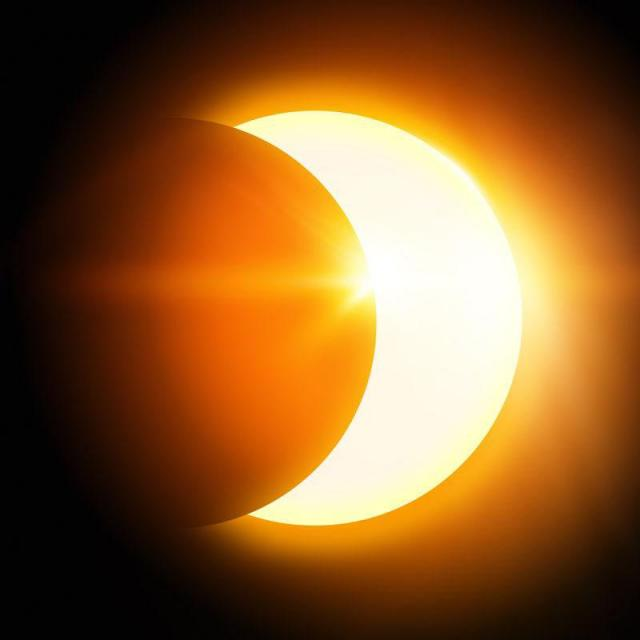 Solar Eclipse Show Today Around 10:15am PDT