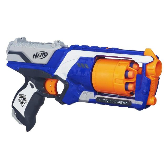 Nerf N-Strike Elite Strongarm Blaster for $9.99