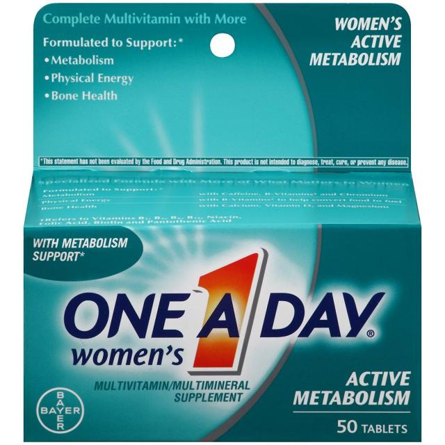 50 One-A-Day Women's Multivitamin Supplement for $3.98
