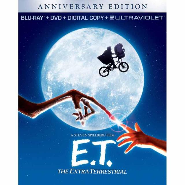 ET The Extra Terrestrial Anniversary Edition Blu-ray for $5