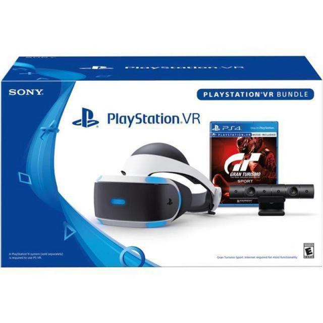 Sony PlayStation VR Headset + GranTurismo VR + $40 Kohls Cash for $199.99