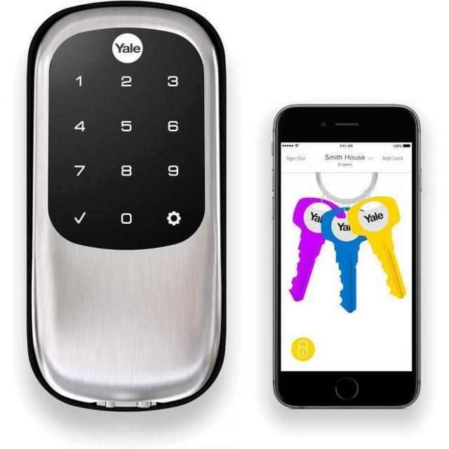 Yale Locks Assure Lock Key-Free with Bluetooth and Z-Wave for $137.99