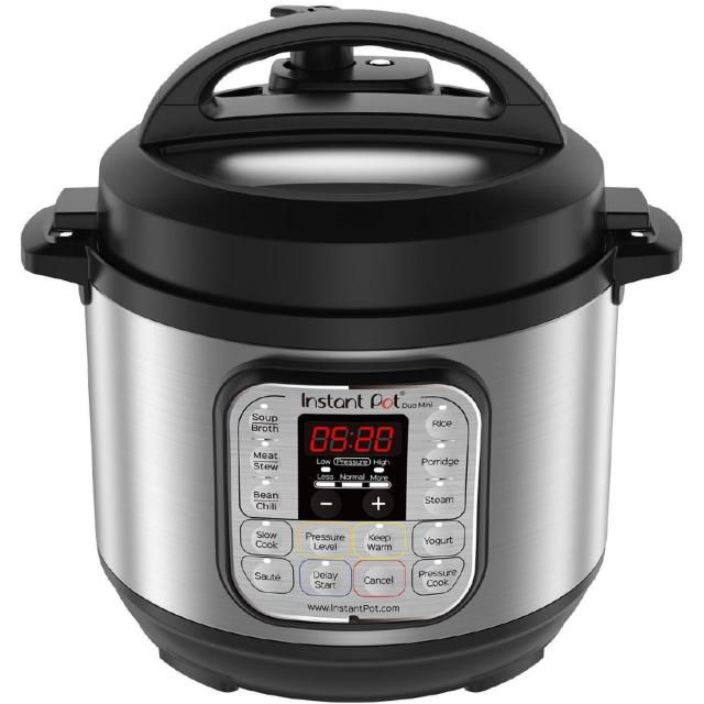 Instant Pot Duo Mini 3-Quart Programmable Pressure Cooker + $20 GC for $69.99