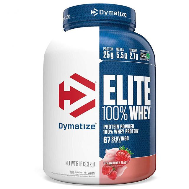 5Lbs Dymatize Elite 100% Whey Protein for $28.01