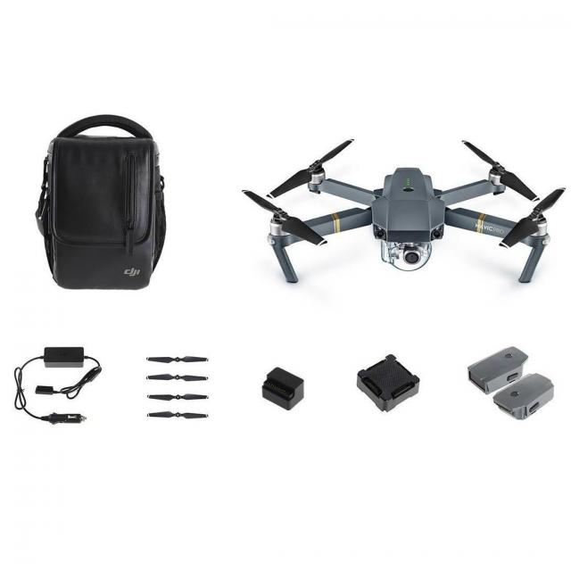 DJI Mavic Pro Quadcopter Drone Fly More Combo for $899
