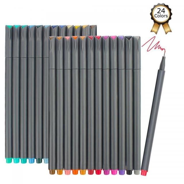 24 iBayam 0.38mm Fineliner Pens for $5.99