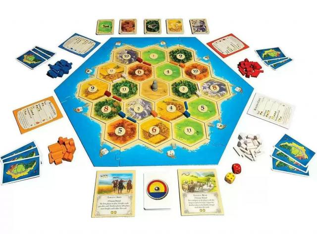 Settlers of Catan Board Game + $20 Gift Card for $43.90