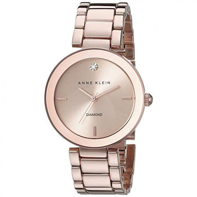 Anne Klein Womens Ceramic Bracelet Watch for $39.99