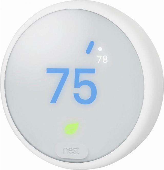 Nest Learning Thermostat E + Google Home Mini for $139