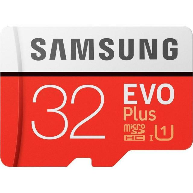 Samsung EVO Plus 32GB microSDHC UHS-I Memory Card for $9.99