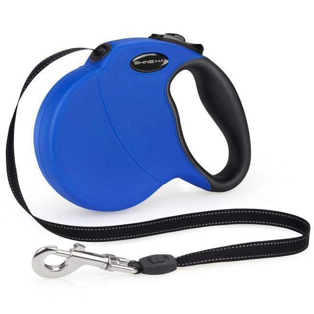 16ft Shine Hai Retractable Dog Leash for $6.99