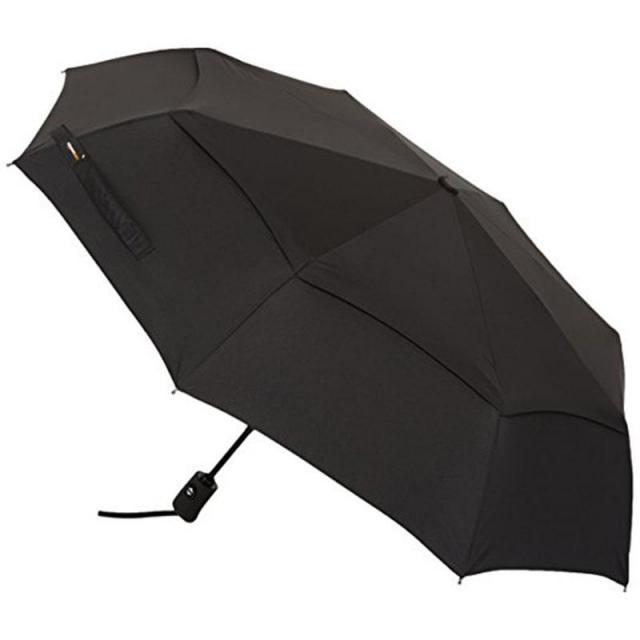 AmazonBasics Automatic Travel Umbrella for $13.49
