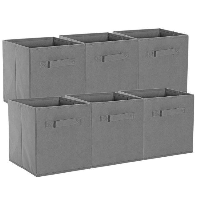 6 ONH Foldable Storage Cubes for $12.29