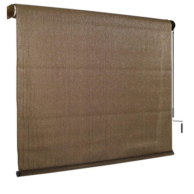 Coolaroo 8ft x 6ft Outdoor Cordless Roller Shade for $49.98