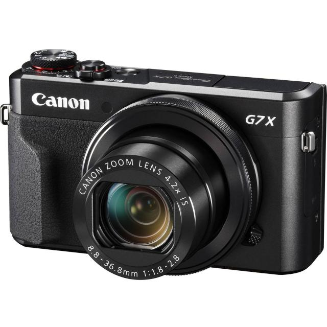 Canon PowerShot G7 X Mark II Digital Camera for $429.99