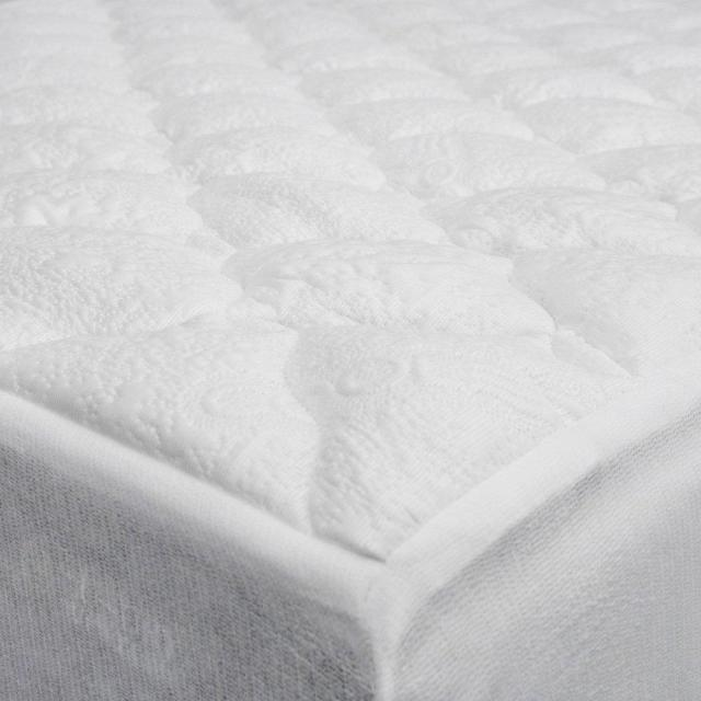 Cooling Top Mattress Pad with Fitted Skirt for $116.99