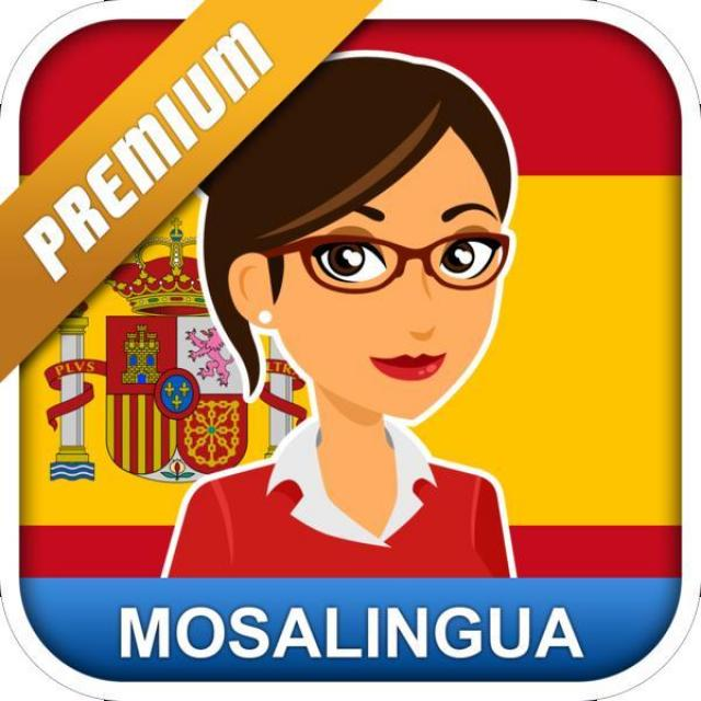 Free Learn Spanish with MosaLingua for Android and iOS