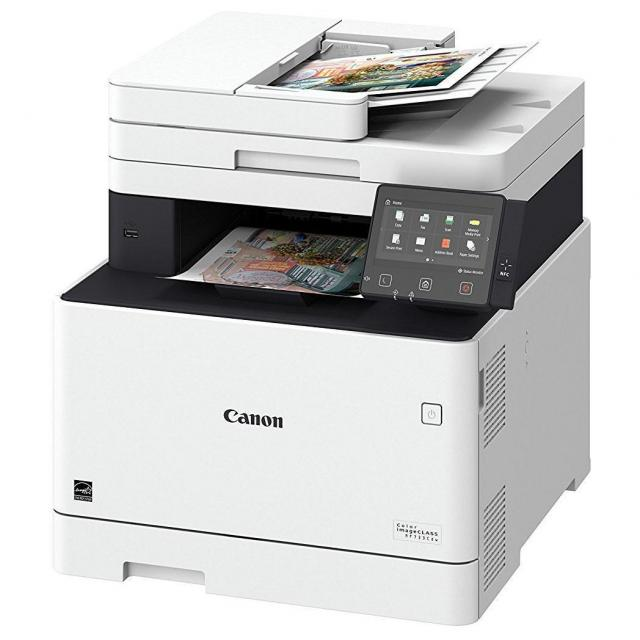 Canon imageCLASS MF733Cdw Color Laser Multifunction Printer for $285