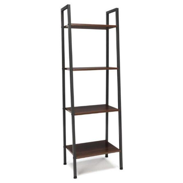 OFM Essentials 4-Shelf Free Standing Ladder Bookshelf for $26