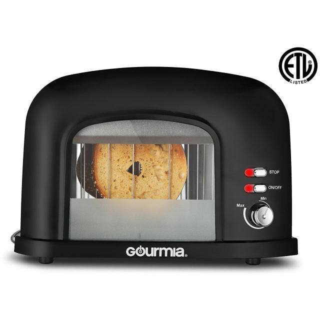 Gourmia 2-Slice Motorized Toaster with Transparent Window for $19.99