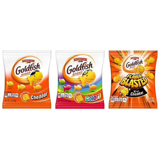 40 Pepperidge Farm Goldfish Crackers Variety Pack for $12.12