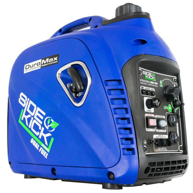 DuroMax 2000W Dual Fuel Digital Inverter Generator for $325