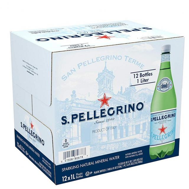 12x San Pellegrino Sparkling Natural Mineral Water for $14.43