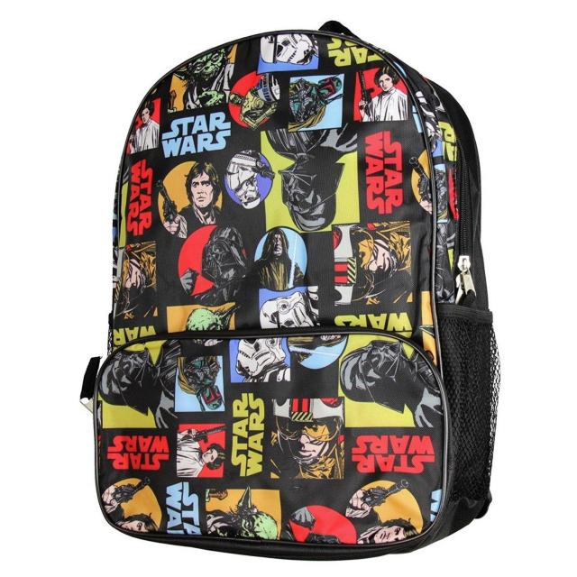 Disney Star Wars Classic All Over Print Kids Backpack for $5.99