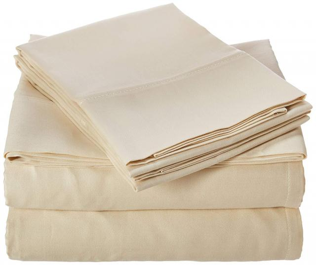 Chateau Home Collection Luxury Cotton Bed Sheet for $31.99