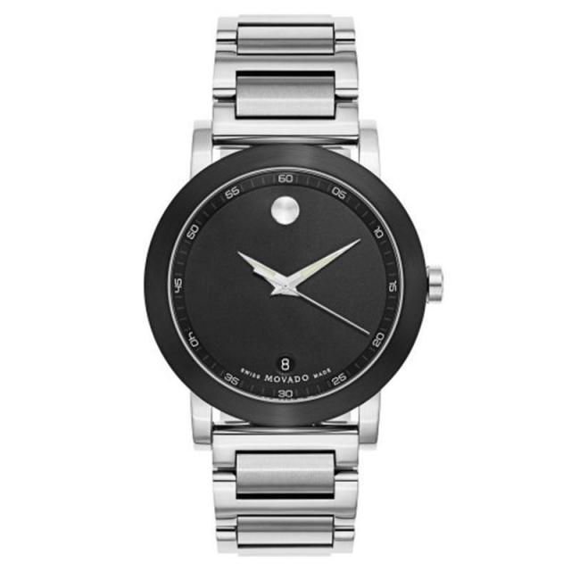 Movado Mens Museum Watch with Stainless Steel Bracelet for $299