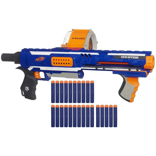 Nerf N-Strike Elite Rampage Blaster for $23.63
