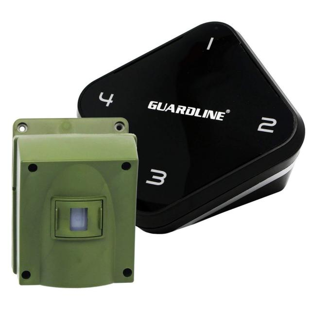 Guardline 1/4 Mile Long Range Wireless Motion Sensor and Detector for $99.99