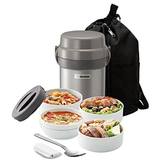 Zojirushi Mr Bento Stainless Steel Lunch Jar for $24.71