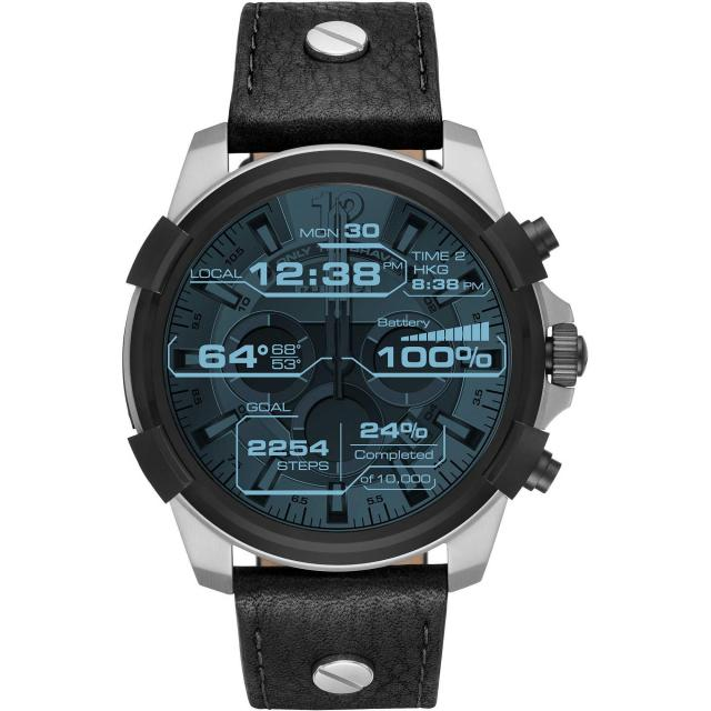 Diesel Mens On Full Guard 48mm Smartwatch for $227.50